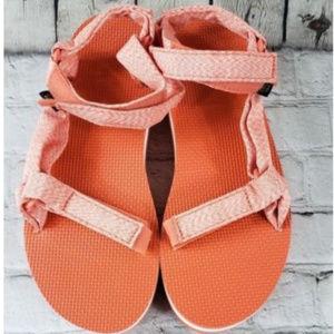 d45539e9279 Teva Shoes - NEW Teva Flatform Universal Sandal Marled Coral